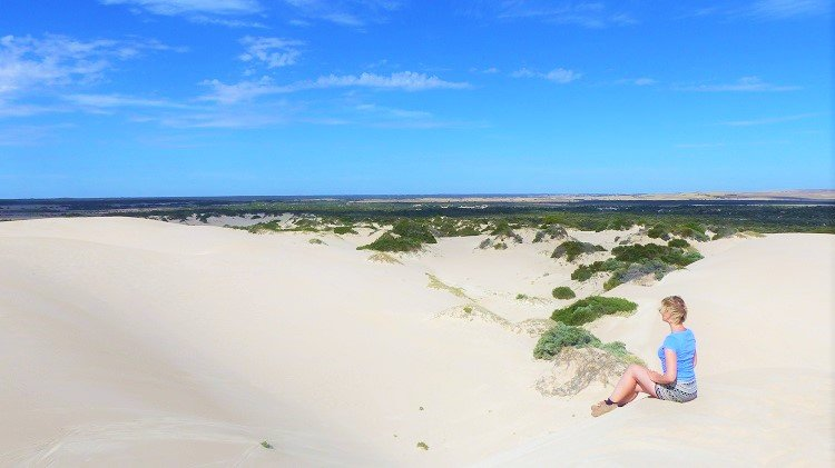 Discover the Prettiest Place to Sandboard in Australia