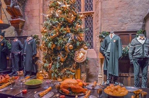Hogwarts Great Hall at Christmas