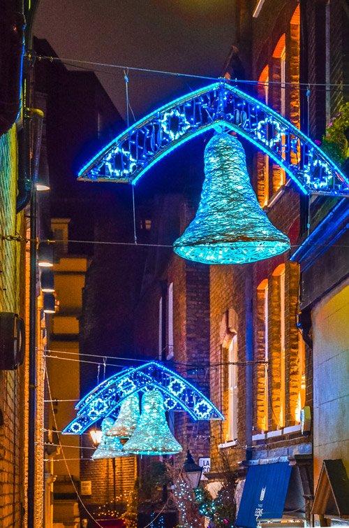 London Christmas Lights in Oxford Street