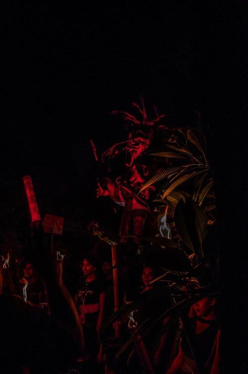 Ogoh-ogoh doll during Bali Nyepi