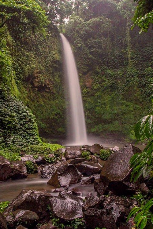The top 25 Bali Waterfalls -Air terjun nungnung