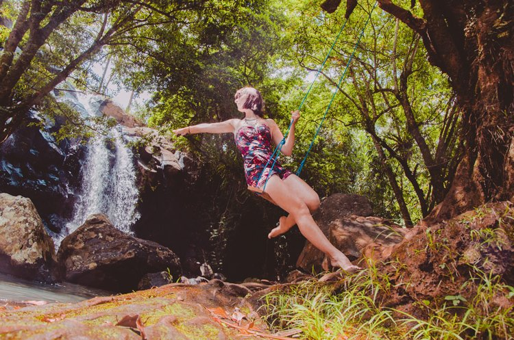 Air Terjun Sing Sing Angin and swing