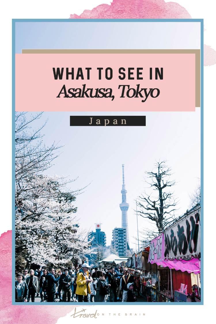Pin: What to Do in Asakusa Tokyo