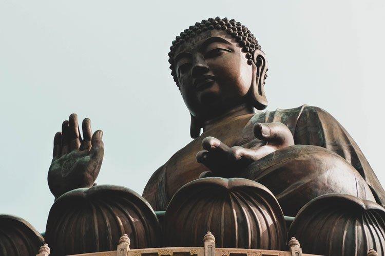 Big Buddha Lantau Island Hong Kong Asia