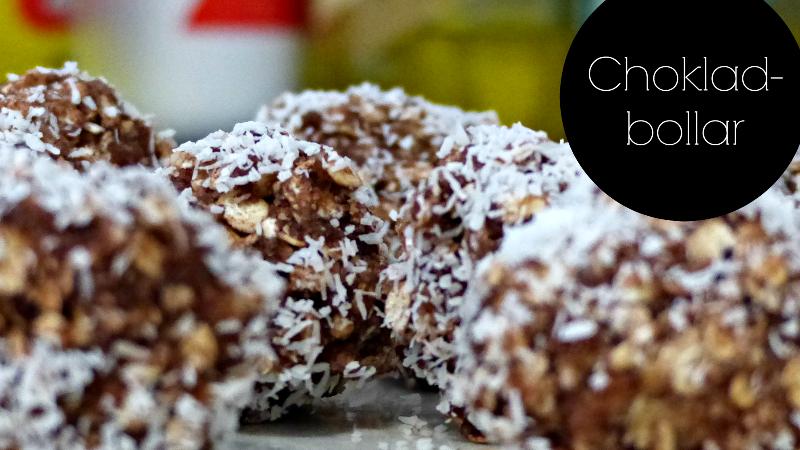 Recipe Corner: Chokladbollar