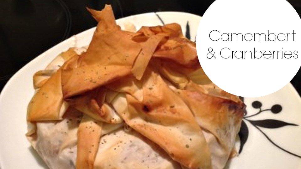 Guest Recipe Corner: Baked Camembert and Cranberries