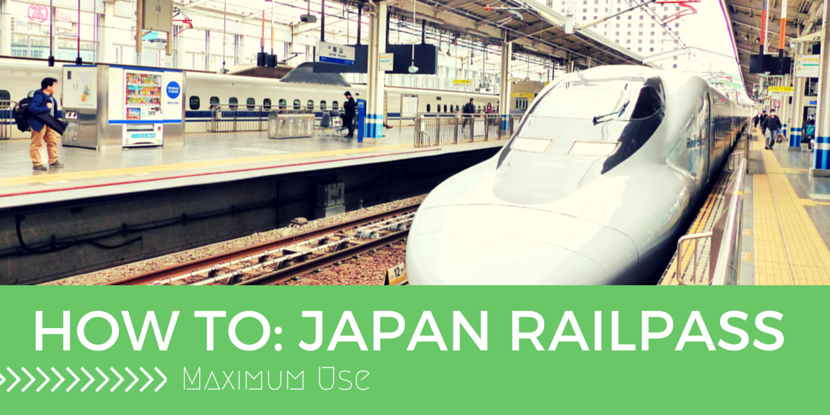 How to Get the Best out of Your Railpass Japan // Sponsored
