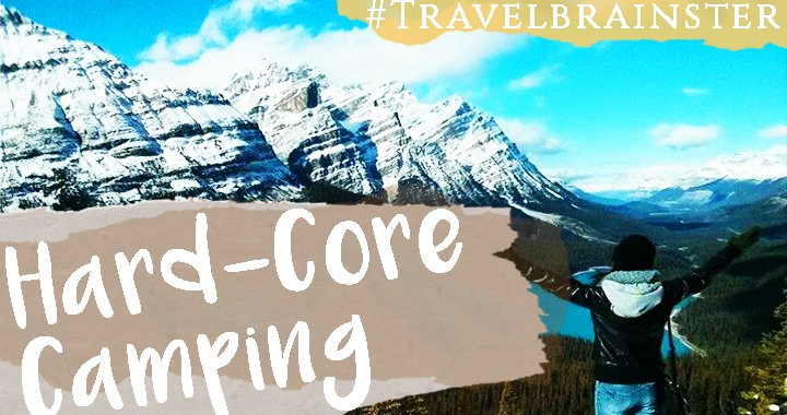 #TravelBrainster Melissa on Hard-Core Camping in Greece