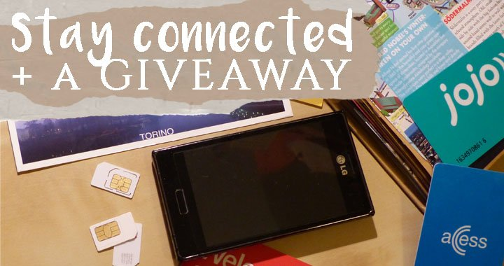 How to Stay in Touch during Holiday + A Giveaway!