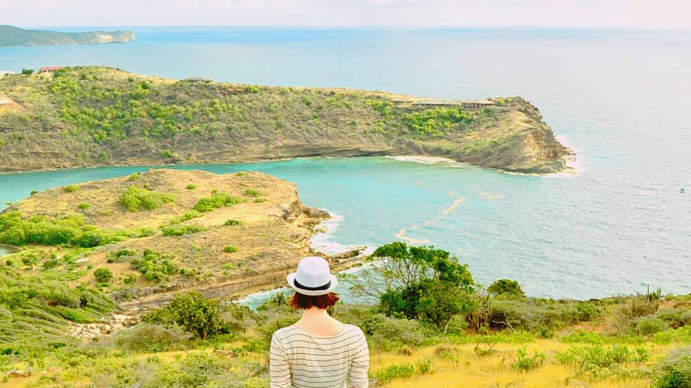 One highlight for travellers around the Caribbean islands is to explore Antigua's natural beauty