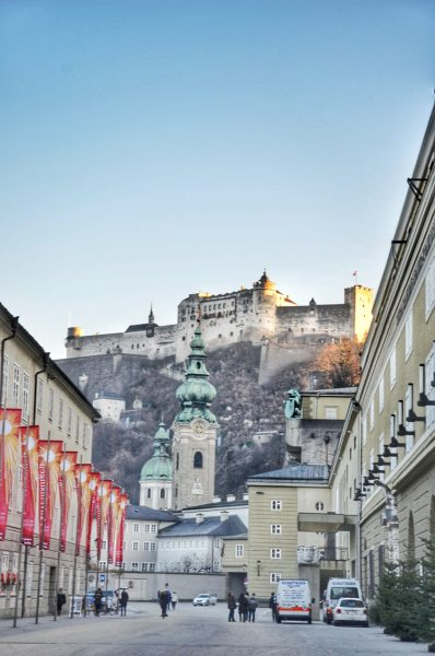Salzburrg Fortress in December