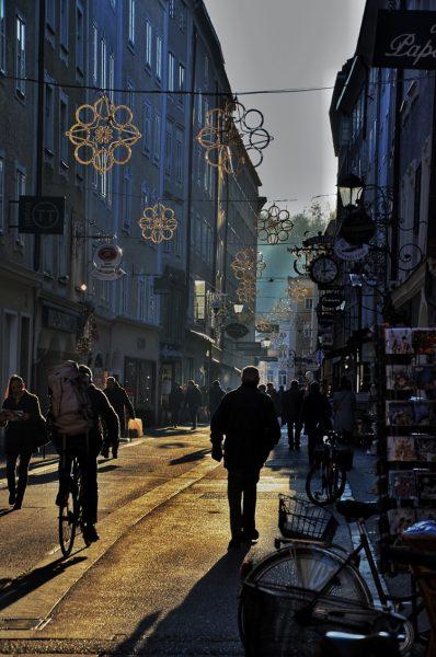 Salzburg CHristmas streets