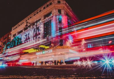 London Christmas Lights in Oxford Street