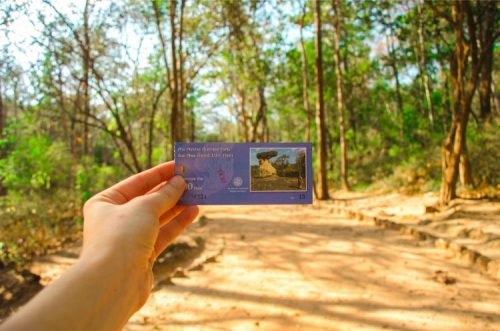 entry ticket to Phu Prabat Historical Park near Udon Thani, Thailand