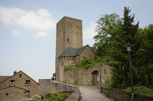 Blankenstein Castle in Hattingen, Germany