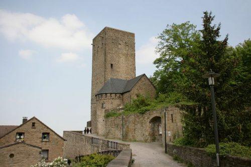 Blankenstein Castle in Hattingen, Germany