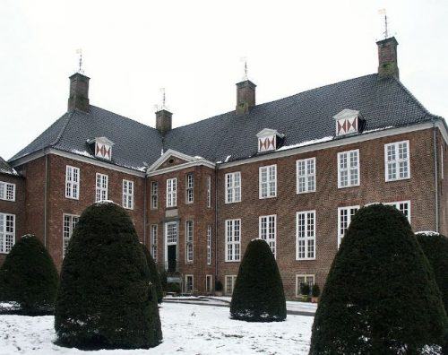 Ringenberg Castle in winter, Germany