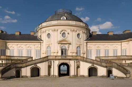 Solitude Palace seen from the front, Germany