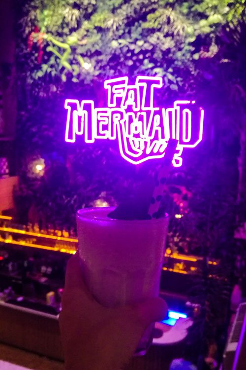 Fat mermaid with drink - Where to Find the Best Canggu Restaurants