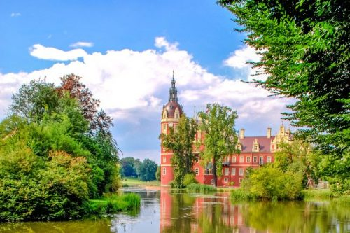 Bad Muskau Castle in Germany