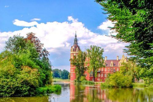 Bad Muskau Castle in Germany