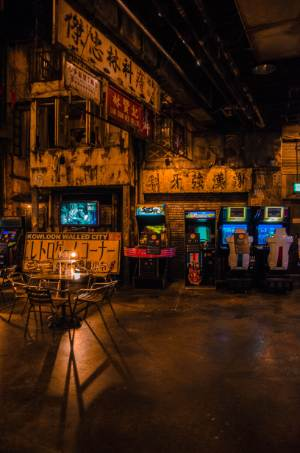 game slots inside Anata No Warehouse in Kawasaki in Japan
