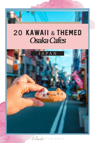 17 Kawaii & Themed Osaka Cafes Foodies Will Love