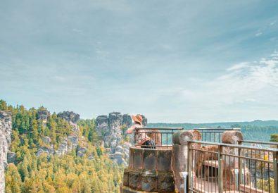 Hiking a Painting – Bastei Bridge and Saxon Switzerland National Park in Germany