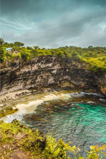 Broken Beach - beach cave - Bali Nusa Penida Island