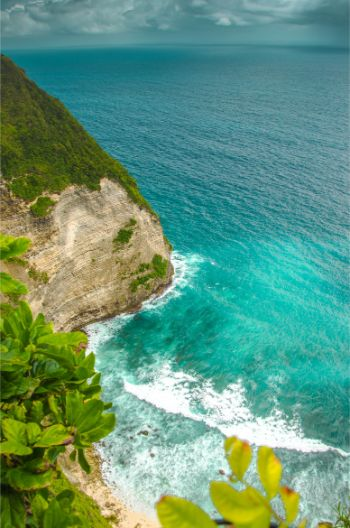 Kelingking Beach from above -Bali Nusa Penida Island
