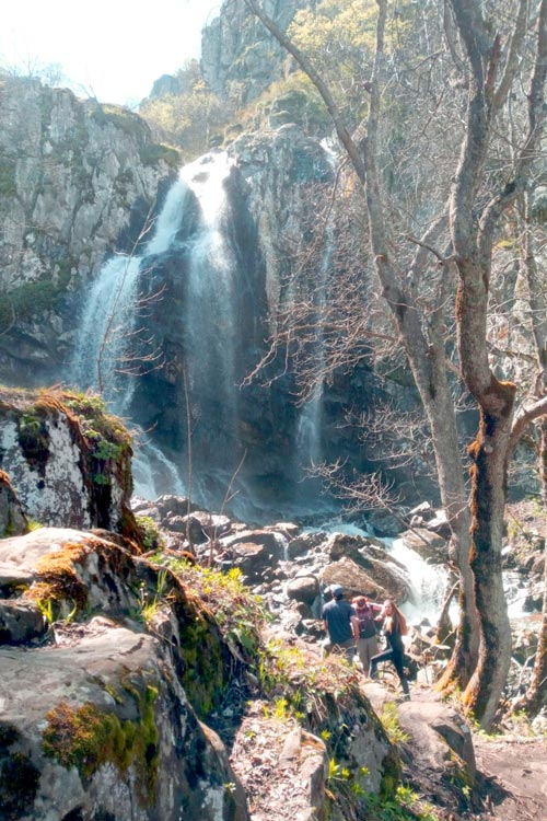 Boyana Waterfall up close