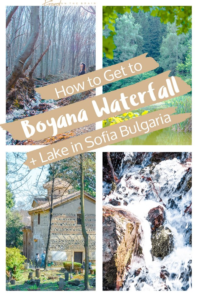 How to Get to Boyana Waterfall and Lake in Sofia, Bulgaria