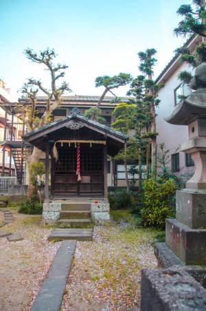 shrine in Shibamata, Tokyo