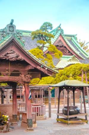 details of Shibamata Taishakuten