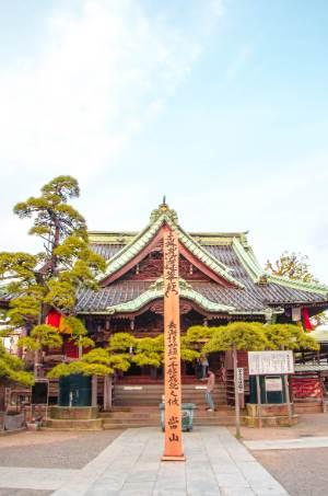 yard of Shibamata Taishakuten
