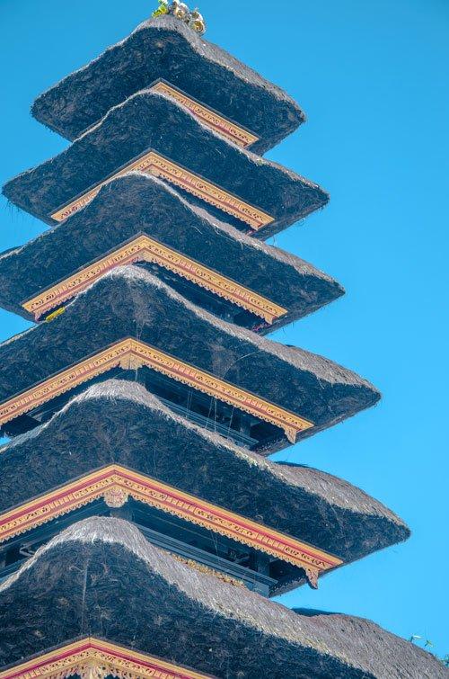 11 story meru temple of Pura Ulun Danu Bratan