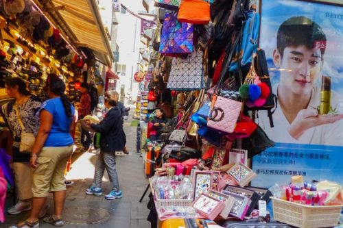 shopping in Insadong, Seoul