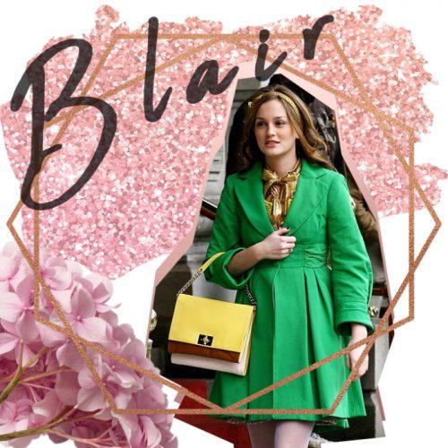 Blair Waldorf look - Gossip Girl Fashion