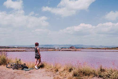 Pink Lakes in Bulgaria