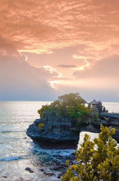 Pura Batu Bolong near Tanah Lot