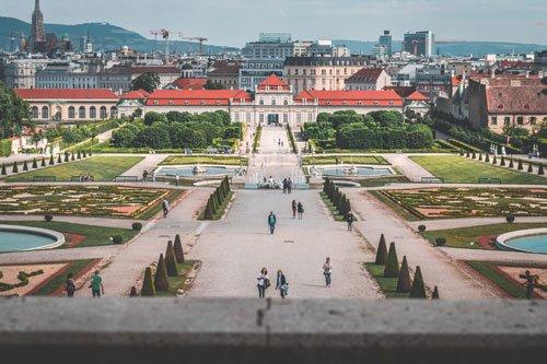 Palace Belvedere in Landstraße, Vienna, Austria