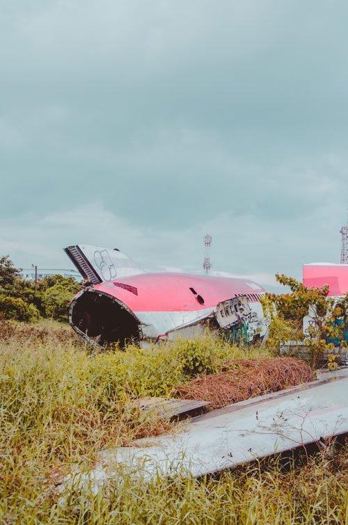 Bangkok Airplane Graveyard - McDonnell Douglas MD-82