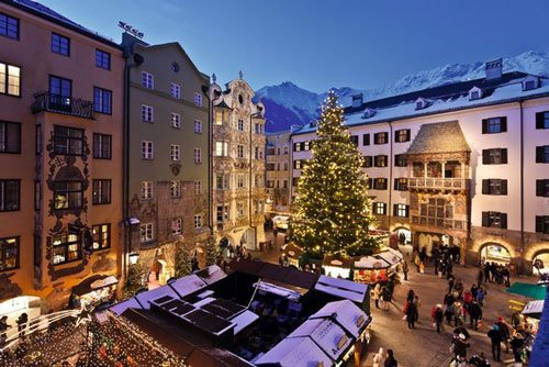 Innsbruck's Altstadt Christmas market