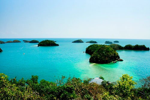 The Islets of Hundred Islands National Park, Pangasinan