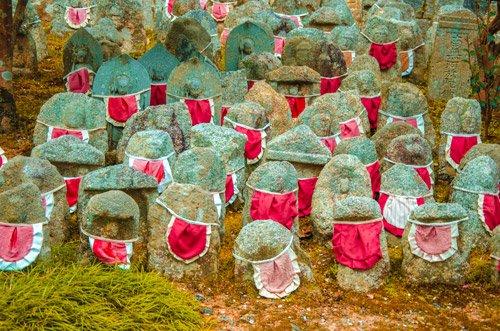 kyoto religious stones