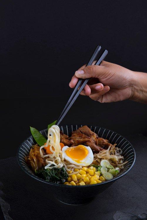 japanese Ramen dish