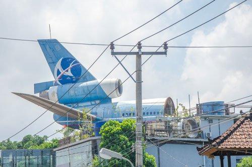Abandoned plane on Gate 88