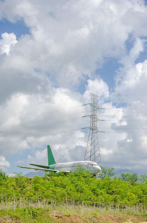 Abandoned Negara Airplane