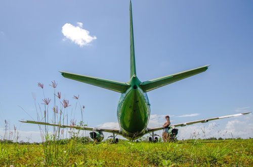 Abandoned Negara Airplane