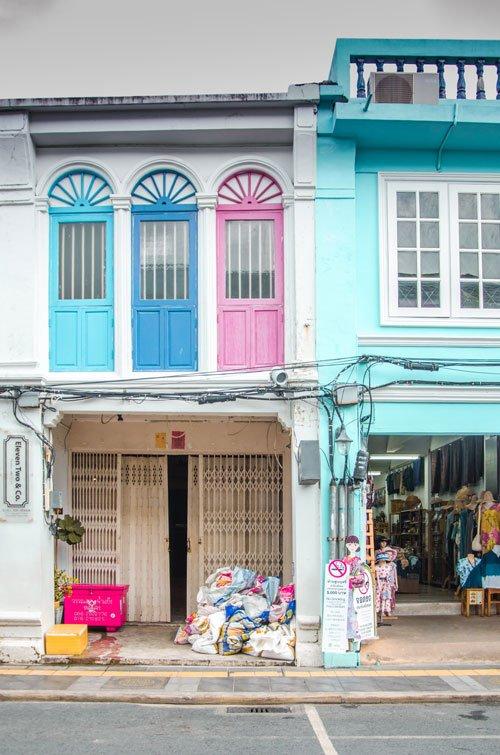 Phuket Town Thalang Road